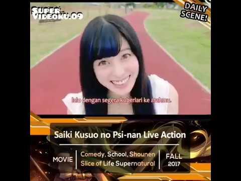 "MOMEN KOCAK ""Saiki Kusuo LIVE ACTION!!  🤣😂 (sub Indo)"