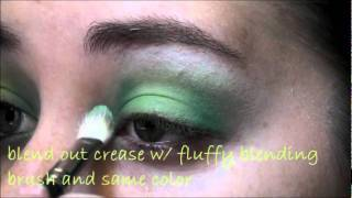 "Green ""3D"" Highlight Eyeshadow Tutorial"" Thumbnail"