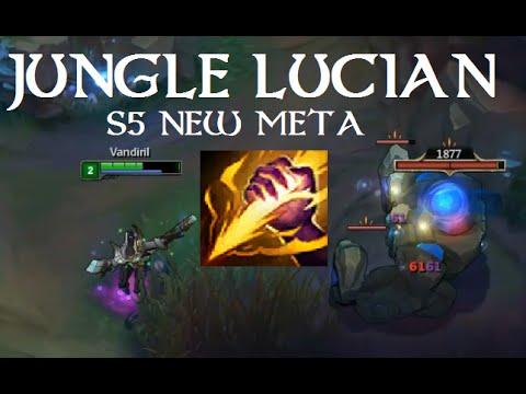 LMHT : Hướng dẫn chơi Lucian đi rừng mùa 5