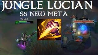 Jungle Lucian Guide!! (S5 RIP)