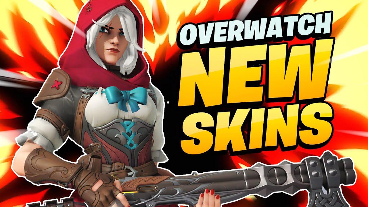 Download OVERWATCH NEW ANNIVERSARY SKINS