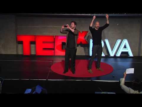 KaosPilot Creative Leadership: Christer Windeløv-Lidzélius and David Storkholm at TEDxRVA 2013