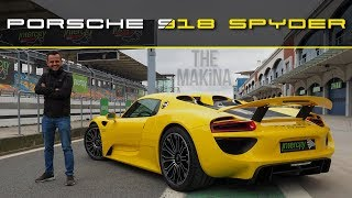 THE MAKİNA | PORSCHE 918 SPYDER