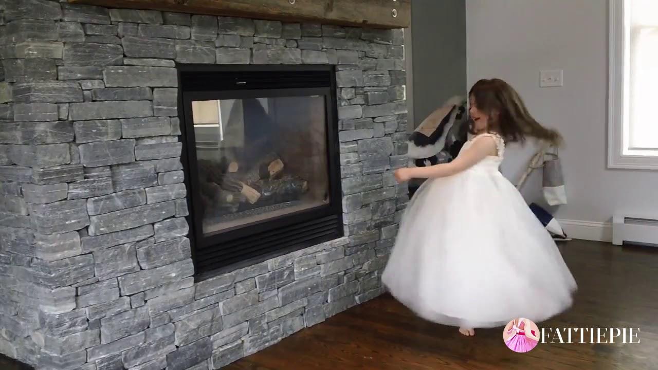 ce1a9f4dc0a Grace in Lace Flower Girl Dress Review. FATTIEPIE DRESSES