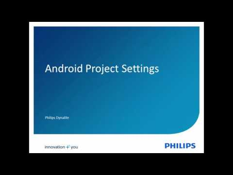 EnvisionTouch Part 4 - Project Settings - YouTube