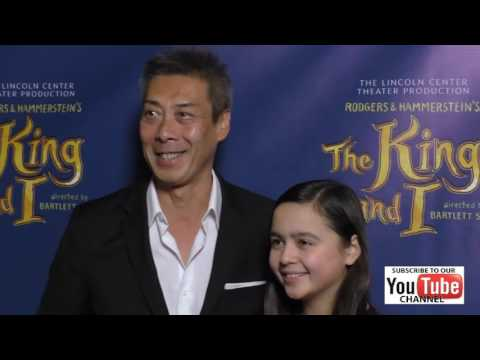 Francois Chau at the King And I  Night at The Pantages Theatre in Hollywood