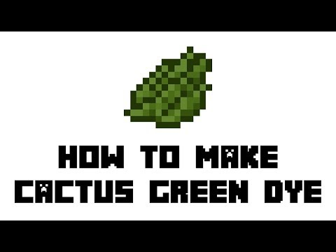 minecraft-survival:-how-to-make-cactus-green-dye