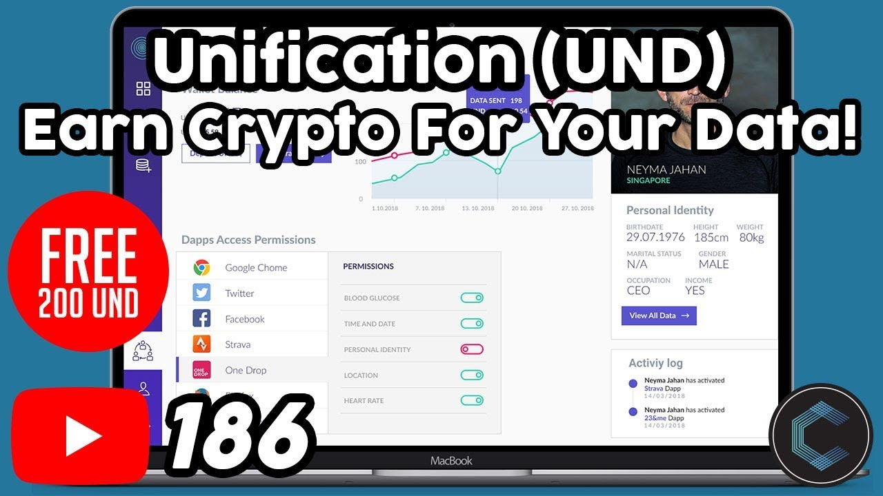 FREE 200 UND Tokens! Learn what is Unification and the UND Token | Earn for Sharing Data (UApps)
