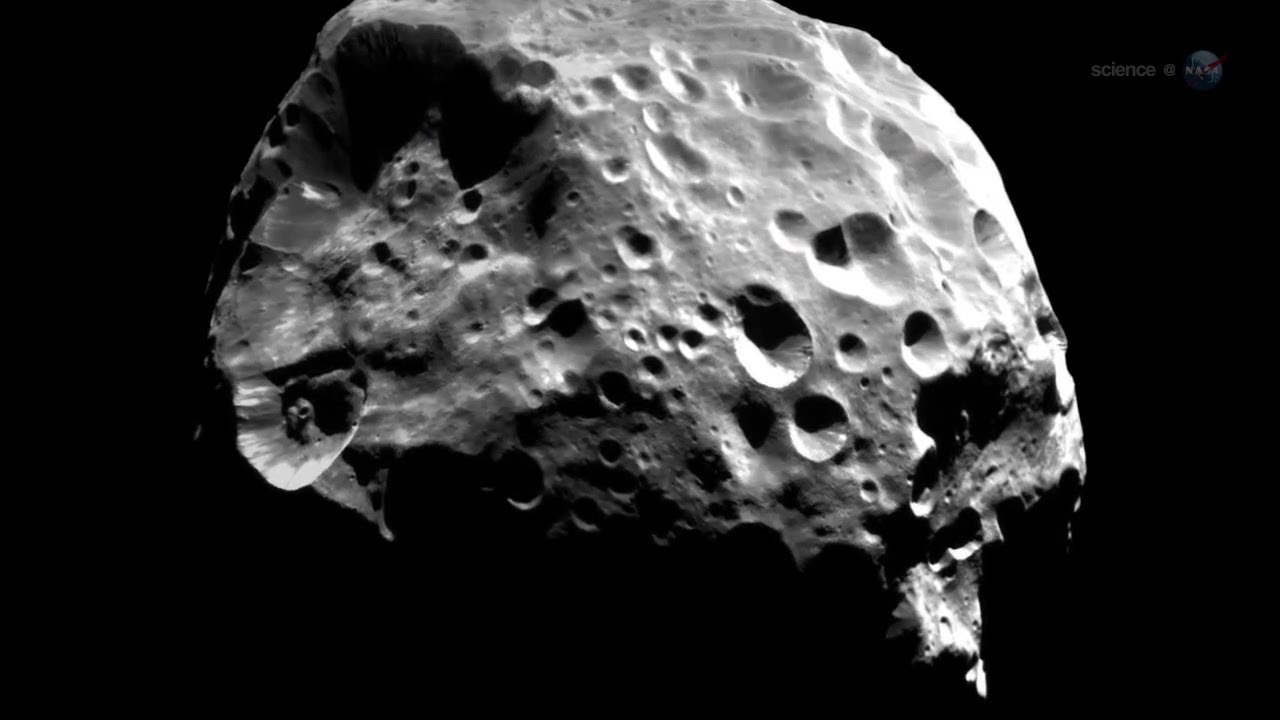 Saturn's Moon Phoebe is Much Like a Planet | NASA Cassini ... Phoebe Moon Of Saturn