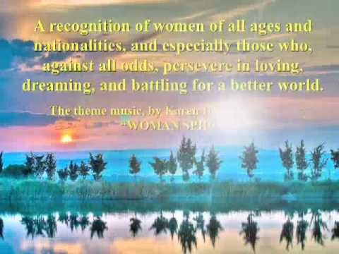 WOMAN SPIRIT - DEDICATED TO ALL WOMEN OF THE WORLD