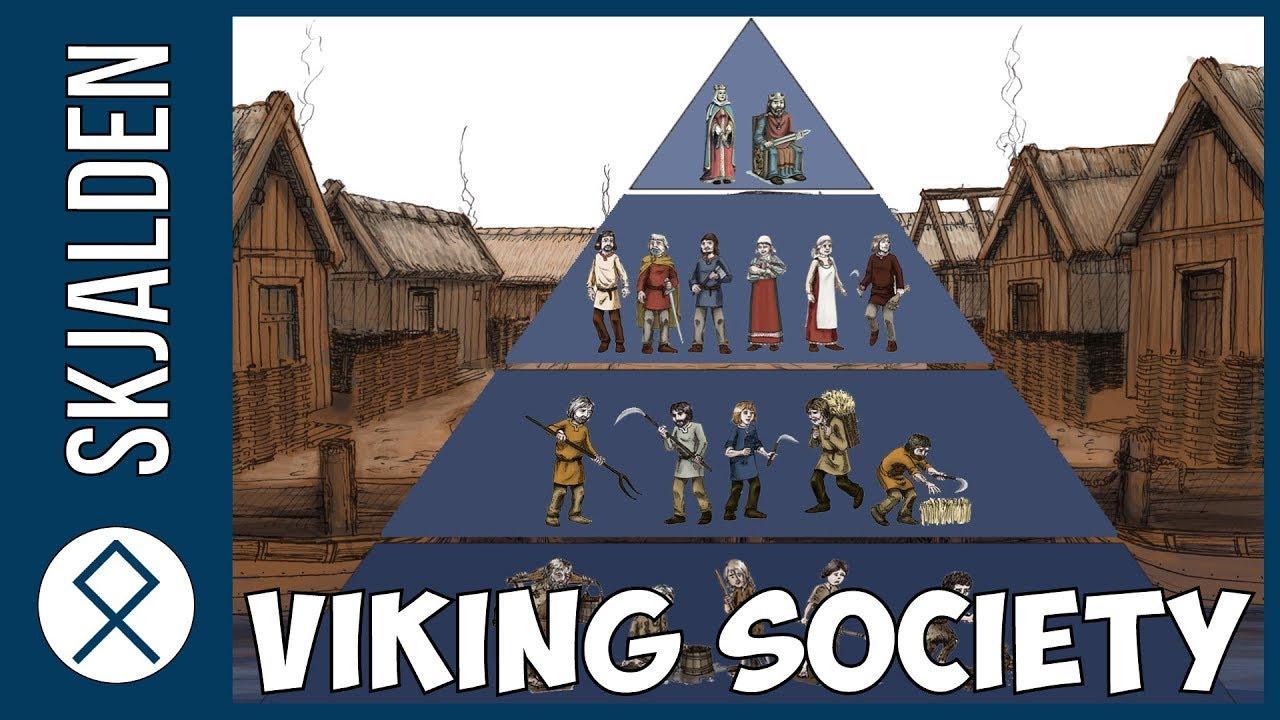 hight resolution of social classes in viking society