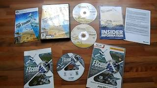 FLIGHT SIMULATOR X DELUXE EDITION PC DVD ROM GAME INC FSCENE X EXPANSION PACK