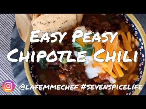 Slow Cooked Chipotle Chili