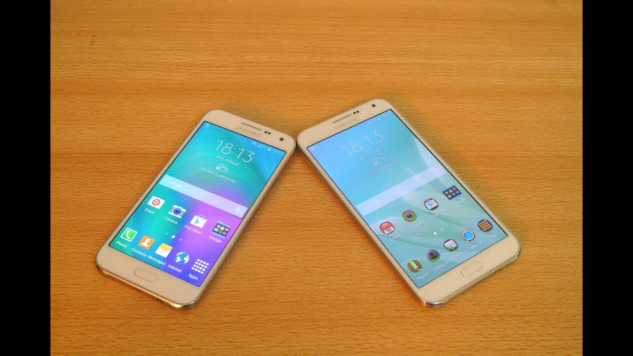 How To Take A Screenshot On Samsung Galaxy E5 E7 Hd Youtube