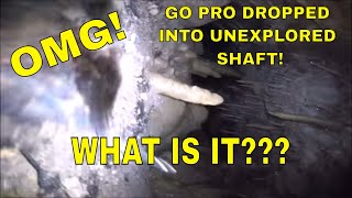 Dropped GoPro Down Cave: Can't Believe What I See! | Aquachigger