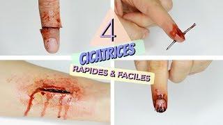 TUTO: 4 Cicatrices Rapides et Faciles à faire!