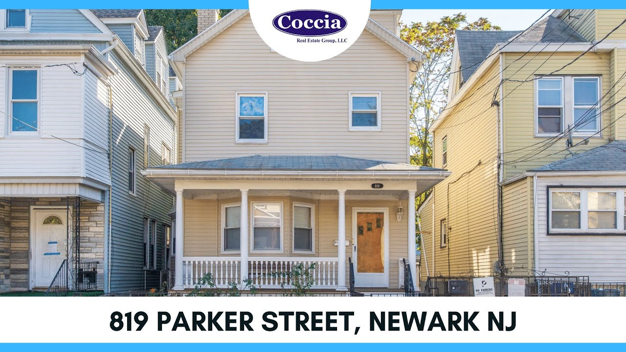 819 Parker Street | Homes for Sale Newark NJ | Essex County