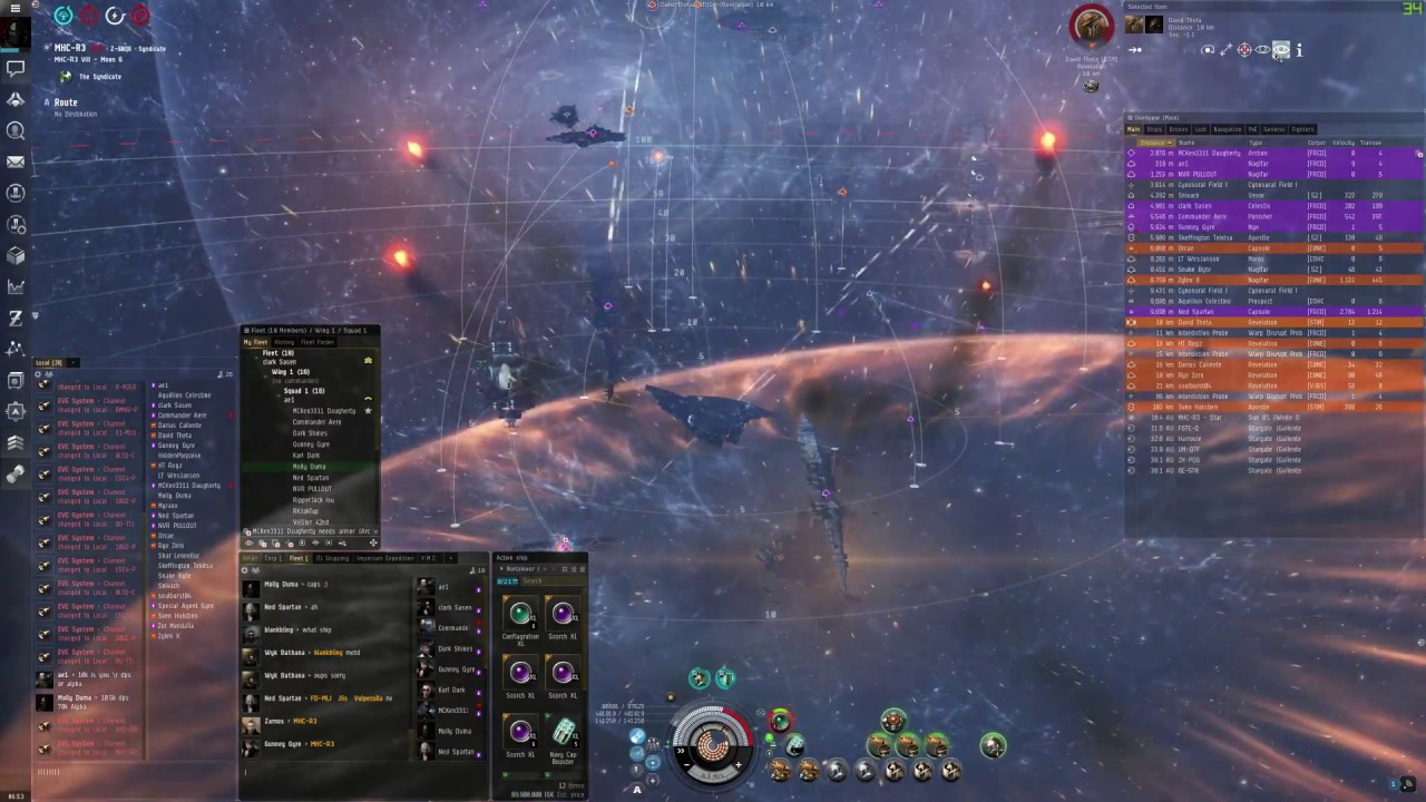 Battle Of MHC-R3 - EvE Online by Molly XVI