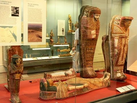 Egyptian Mummies at the British Museum in London England  documentary