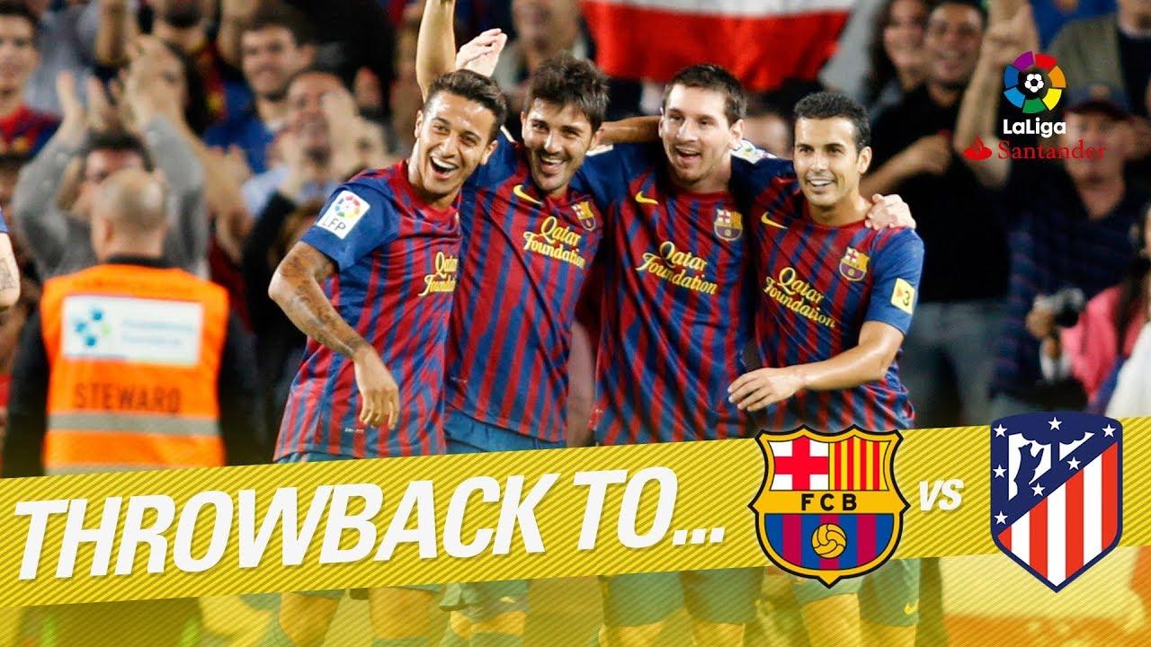 Resumen De Fc Barcelona Vs Atlético De Madrid 5 0 2011