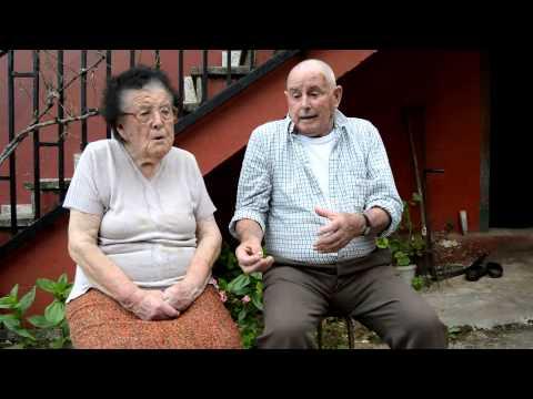 VILLAVICIOSA ENTREVISTA  CARMEN CARAVIA  JOSE MONTES 65 AÑOS DE MATRIMONIO MAOXU 2014