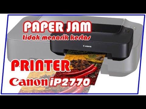 Penyebab printer canon ip2770 kedip lampu orange 4x adalah selang infus/tinta menghalangi katrij ber.