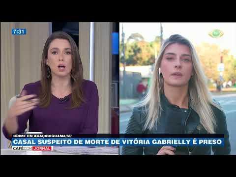 Casal Suspeito De Morte De Vitória Gabrielly é Preso