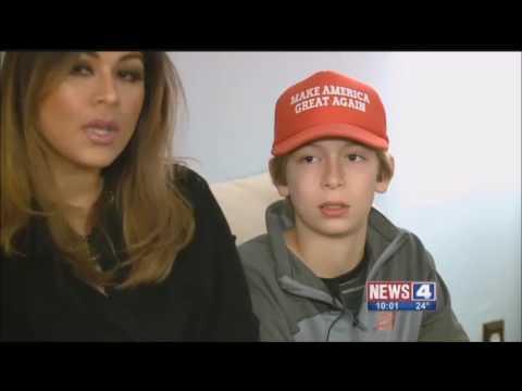 トランプ支持派の少年、集団暴力を受けたあげく停学処分まで受ける 米ミズーリ州