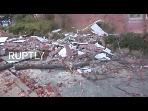 South Korea: 5.4-magnitude quake shakes South Korean port Pohang