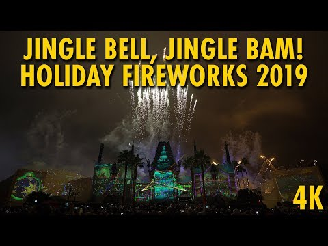 Jingle Bell, Jingle BAM! Holiday Fireworks Show 2019 | Disney's Hollywood Studios