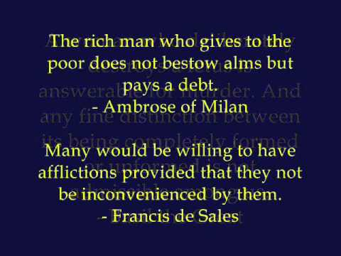 Catholic Teaching Quotes Of The Saints Part 4 4 Youtube