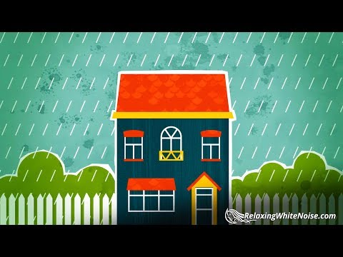 Rain on Roof Sounds to Help You Sleep, Relax, Soothe a Baby | 10 Hours White Noise