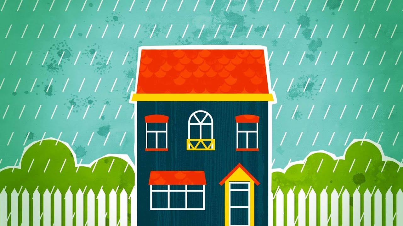 Rain Sounds On Roof To Help You Sleep Relax Study 10