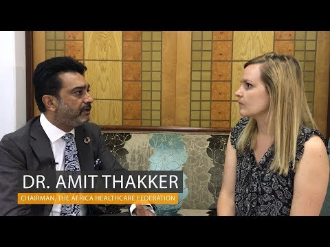 Dr. Amit Thakker on public-private partnerships in health in Africa