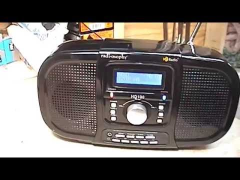 Radiosophy HD100 AM/FM HD Table Radio Review