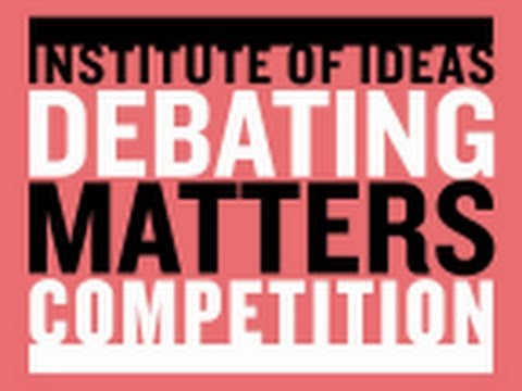 A glimpse of Debating Matters