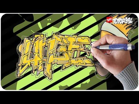 UNGE - Graffiti Tutorial mit Charakter