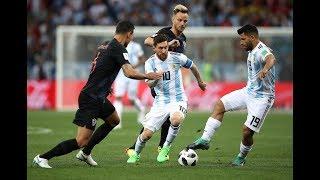 شاهد اداء ليونيل ميسي أمام منتخب كرواتيا , MESSI VS CROITIA 21/06/2018 -WC2018