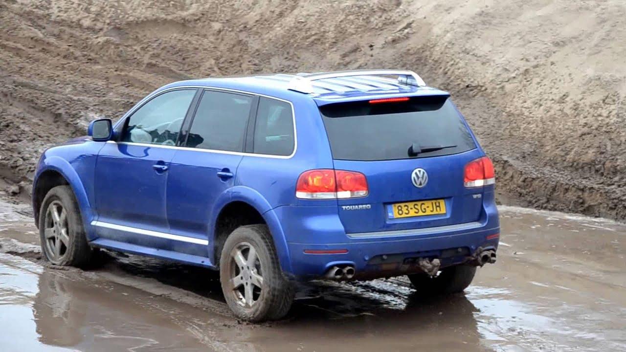 VW Touareg W12 fails at hill climb  YouTube