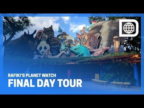 Rafiki's Planet Watch/Conservation Station Final Day Tour - Disney's Animal Kingdom Theme Park