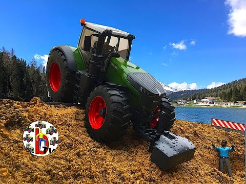 BRUDER Toys Tractor Fendt 1050 Vario New  Unboxing