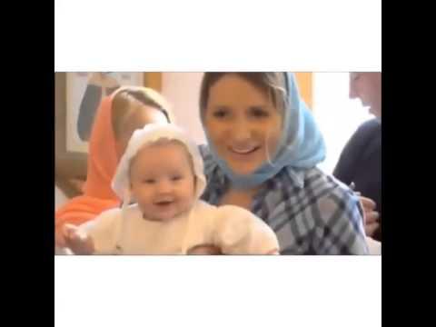 Камирен и Задойнов покрестили дочь - май 2015