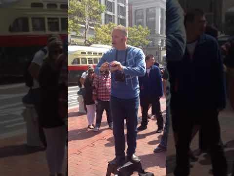 Street Preacher in San Francisco