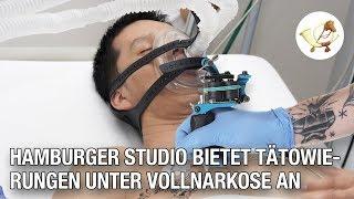 Für sensible Menschen: Hamburger Studio bietet Tätowierungen unter Vollnarkose an