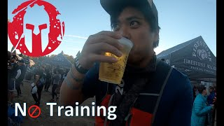 Running a Spartan Race with NO Training?!