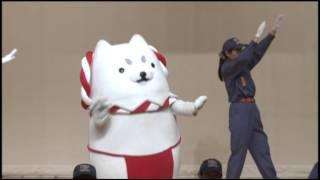 磐田市消防団ラッパ隊&女性隊 with しっぺい