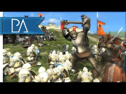EPIC DEFENSE OF DALE - Third Age Total War Gameplay
