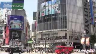 渋谷駅前街頭ビジョンから流れる、湘南乃風 2015年5月27日発売 6th Albu...