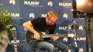 NAMM 2011 - Phil Collen