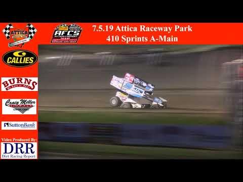 7.5.19 Attica Raceway Park 410 Sprints A-Main